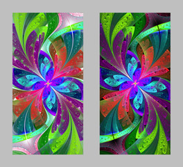 Mobile phone cover back with beautiful Pattern in fractal design