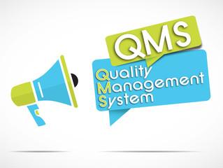 megaphone : QMS