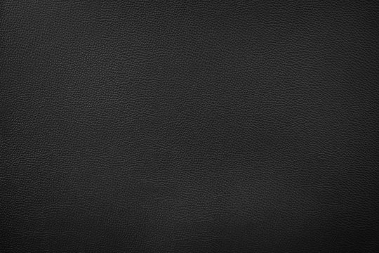 Artificial leather texture Black color in high resolution
