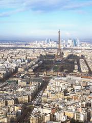 Luftaufnahme der Stadt Paris