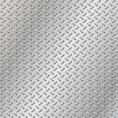 Texture of metal plate background. Vector illustration