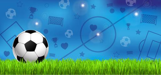 Fussball Hintergrund Frankreich 2016