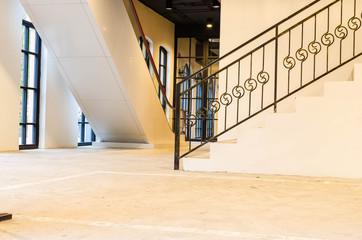 interior loft style , staircase
