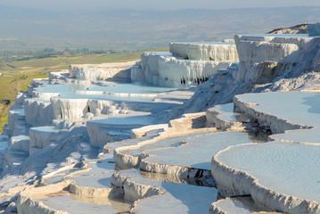 Travertine pools of Pamukkale, Turkey
