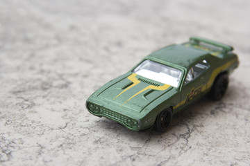 Green car model