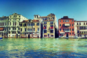 Venezia, vista dal canale.