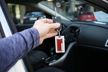 Billiger Mietwagen - Schlüssel