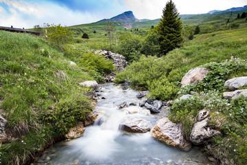 Wasserlauf in den Bergen