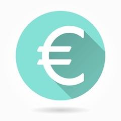 Euro  vector icons.