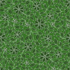 Seamless texture with flowers. Endless floral pattern.