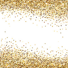Banner of Gold Sequins