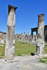 Recess Fitting Ruins Ruins of Pompeii