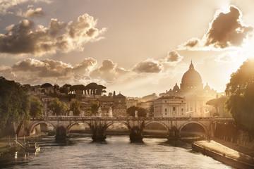 Deurstickers Rome Basilique Saint Pierre de Rome Vatican Italie