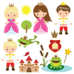 Fairy tale vector illustration
