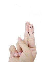 funny finger lovers