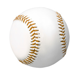 Baseball ball isolated