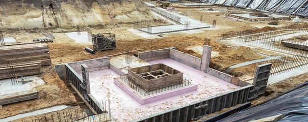 Baustelle - Fundamente