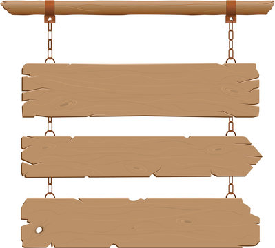Wild West Hanging Signs