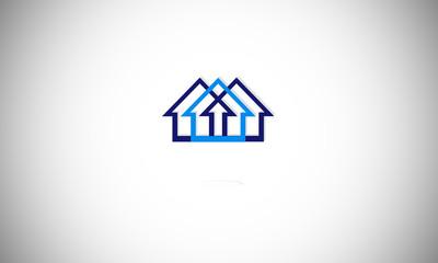 logo, home, icon, building