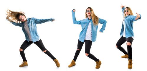 Teen girl dancer