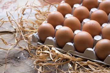bellissime uova di gallina