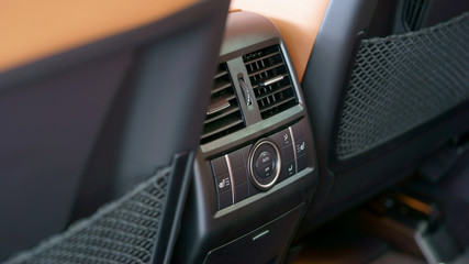 car air conditioning control panel in a modern style