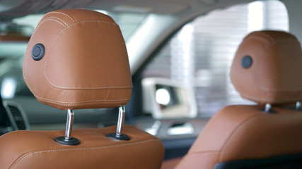 car headrests in modern style