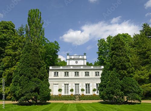 White Pavillion Royal Print Collection In Lazienki Park