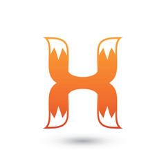 H Fox Logo