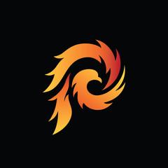 Eagle Fire Logo