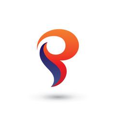 Abstract P Logo