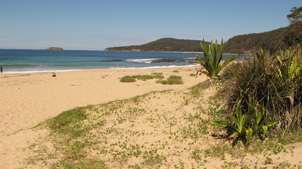 Pebbly Beach near Shoalhaven, NSW, Australia