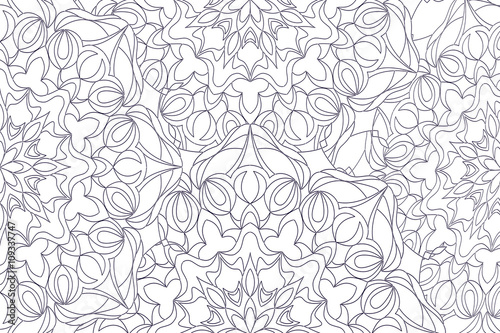 Coloring Pages For Adults And Older Children Painting Mandala