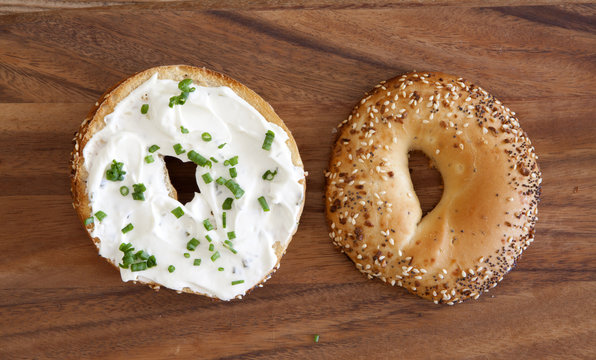 Bagel Cream Cheese and Chives