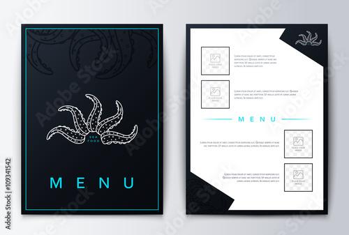 design cover menu brochure culinary menu menu design menu