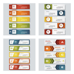 colorful presentation templates. Vector Background. For your idea and presentation.