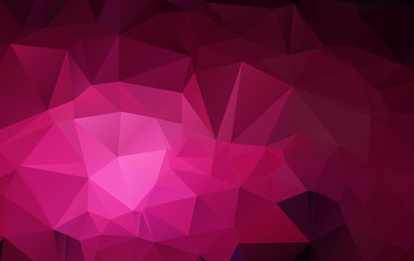 Vector Abstract Design Hexagonal Background polygonal style