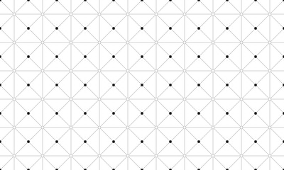 Black dot seamless pattern design. seamless pattern design. vector stock.