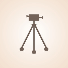 Icon Of Video Camera.