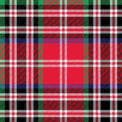 Kemp tartan fabric textile check pattern seamless