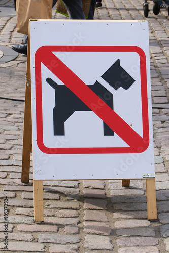 hunde verboten schild stok g rseller ve telifsiz g rseller 39 da foto raf 109373524. Black Bedroom Furniture Sets. Home Design Ideas