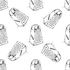 Grater background pattern