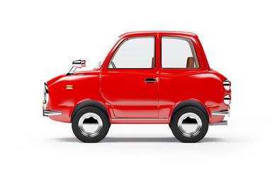 retro car 1960 side