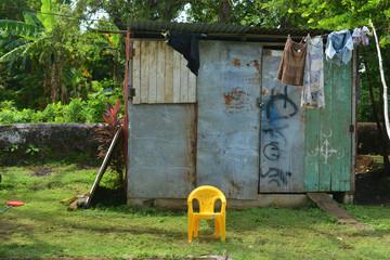 house vzinc sheet metal shed Big Corn Island Nicaragua Central A