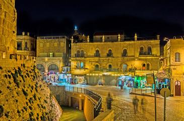 Jerusalem in the evening