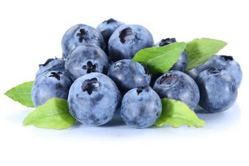 Blaubeere Blaubeeren frische Beeren Beere Frucht Freisteller fre