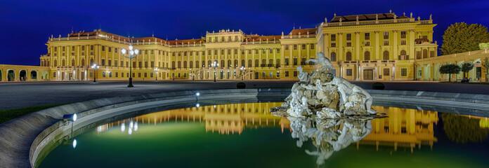 Schloss Schönbrunn Wien Panorama