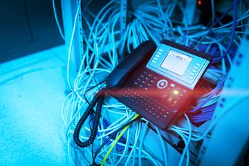 IP phone in network room