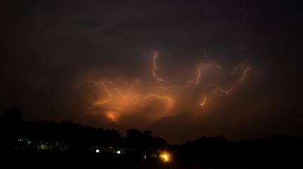 Thunderbolt lightning