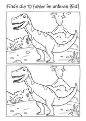 Fehlerbild Dino